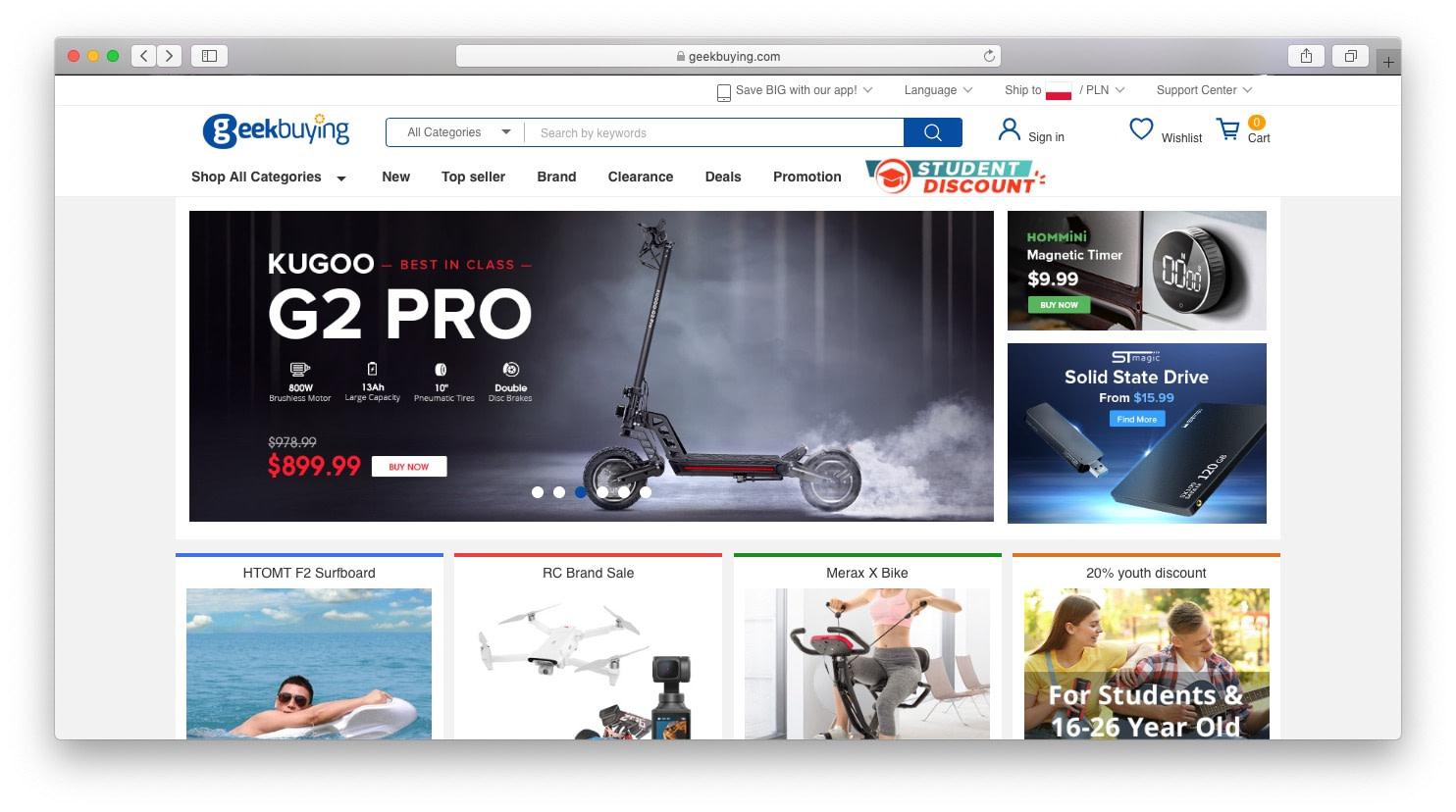 Best AliExpress alternatives: geekbuying