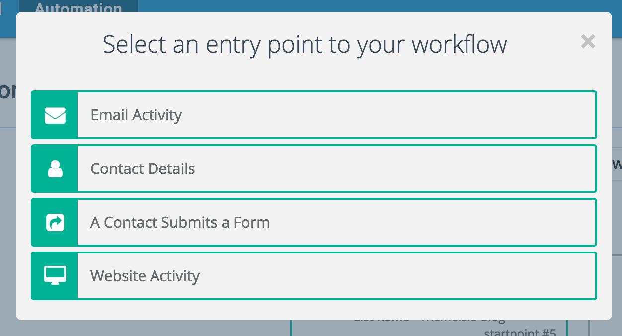 sendinblue entry points