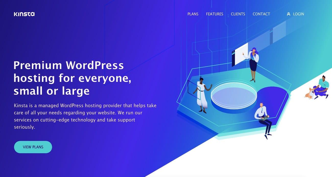Kinsta WordPress hosting