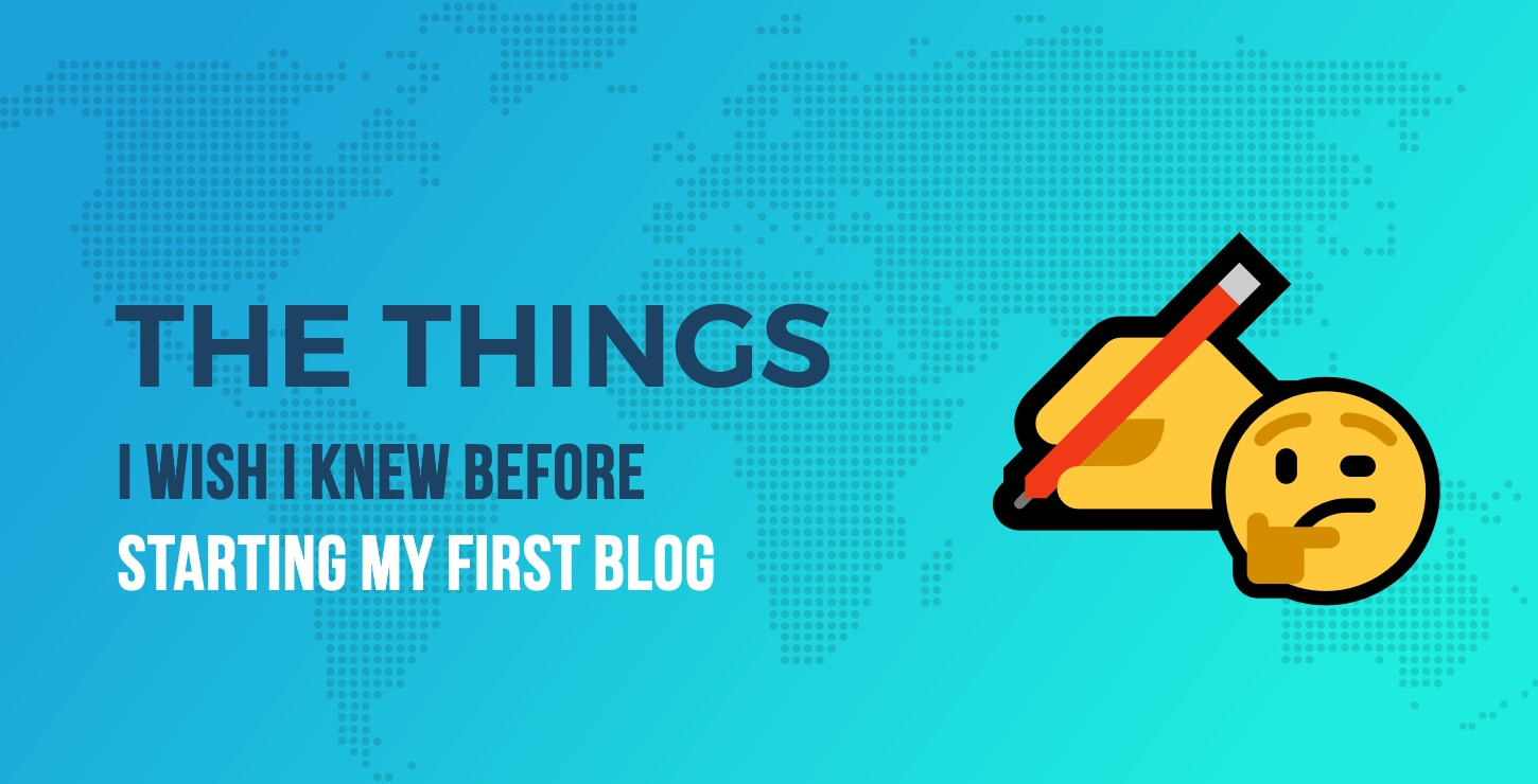 before starting a blog