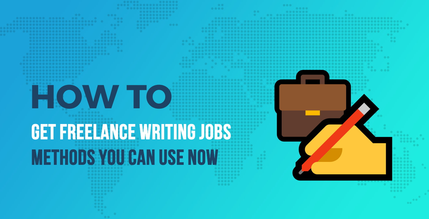Find Freelance Writing Jobs