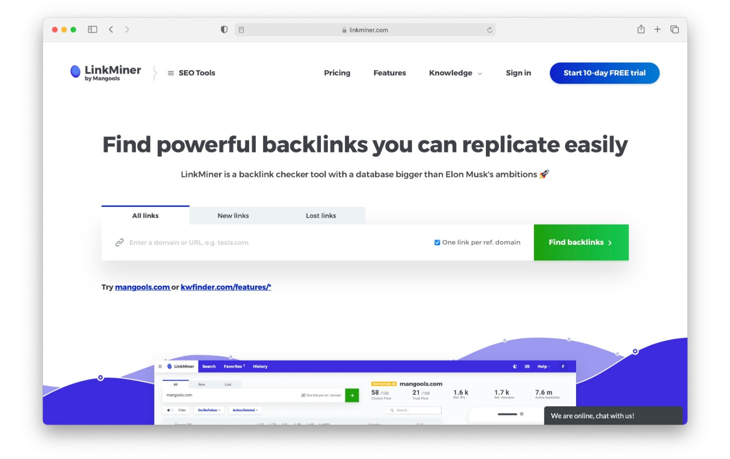 Linkminer