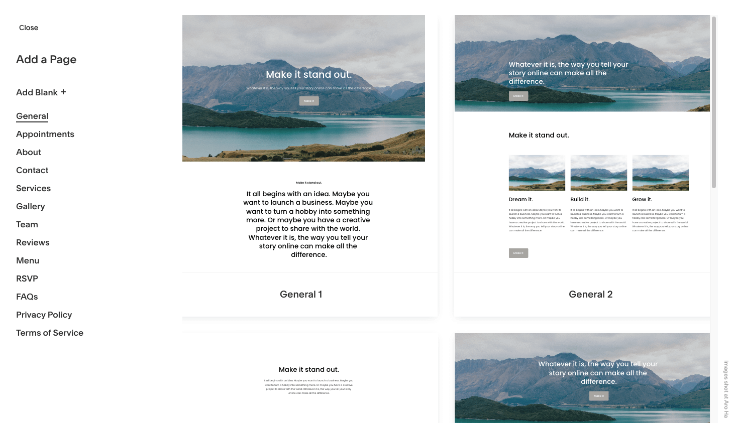 Squarespace is the eCommerce builder with the most dazzling themes.