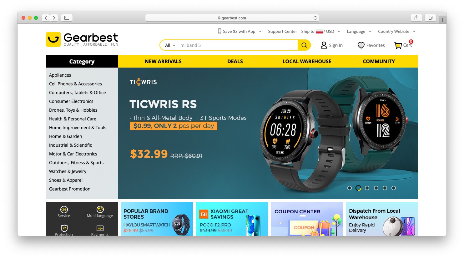 Best AliExpress alternatives: gearbest
