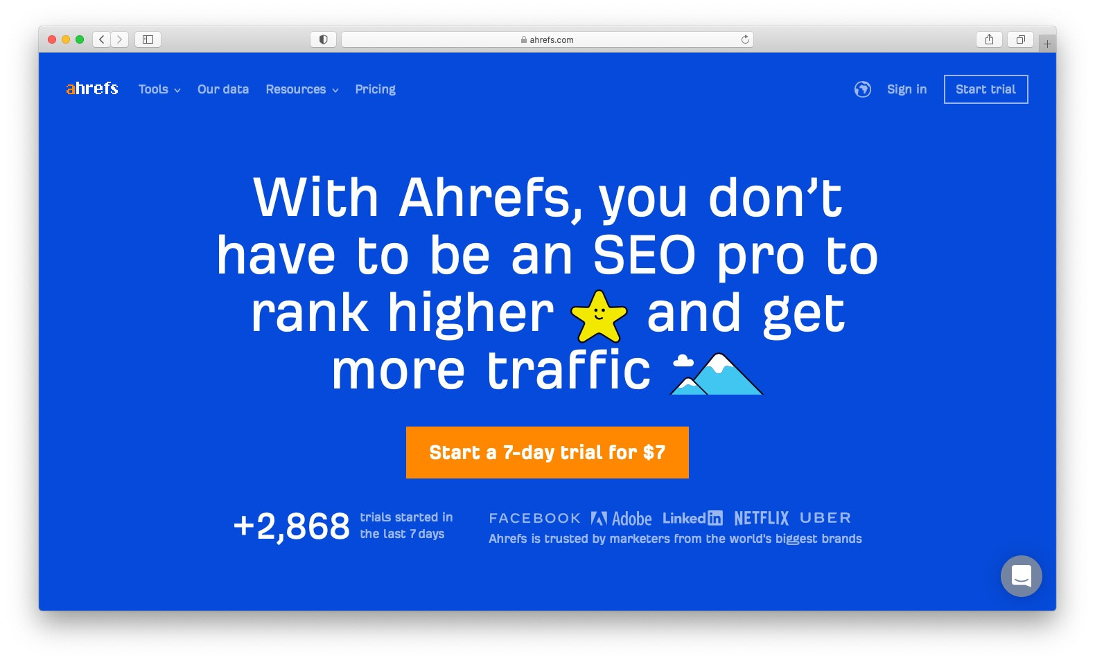 Ahrefs is a popular premium SEO tool and certainly worth its price