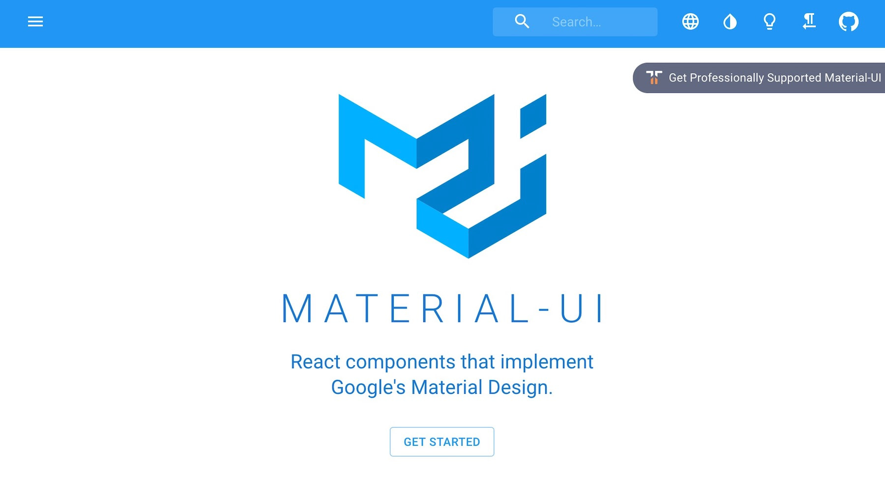 React UI Component Libraries and Frameworks - Material UI