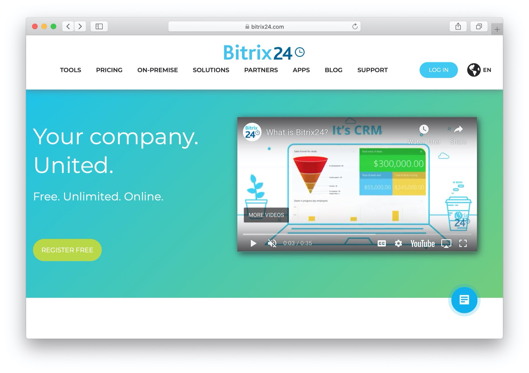 Best CRM software: bitrix24