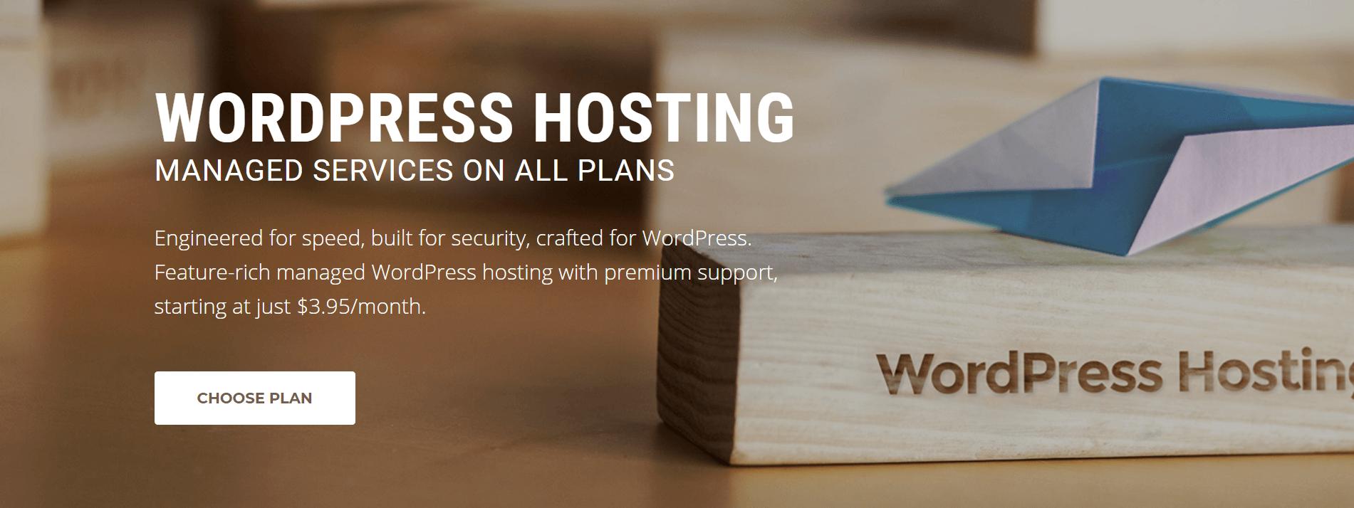 SiteGround WordPress hosting.