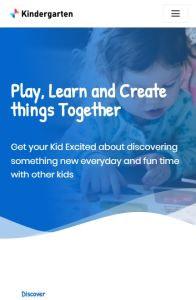 Neve Kindergarten on mobile