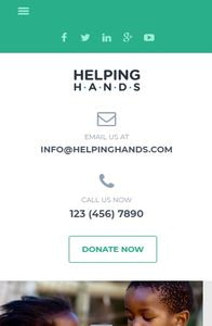 HelpingHands on mobile