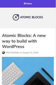 Atomic Blocks on mobile