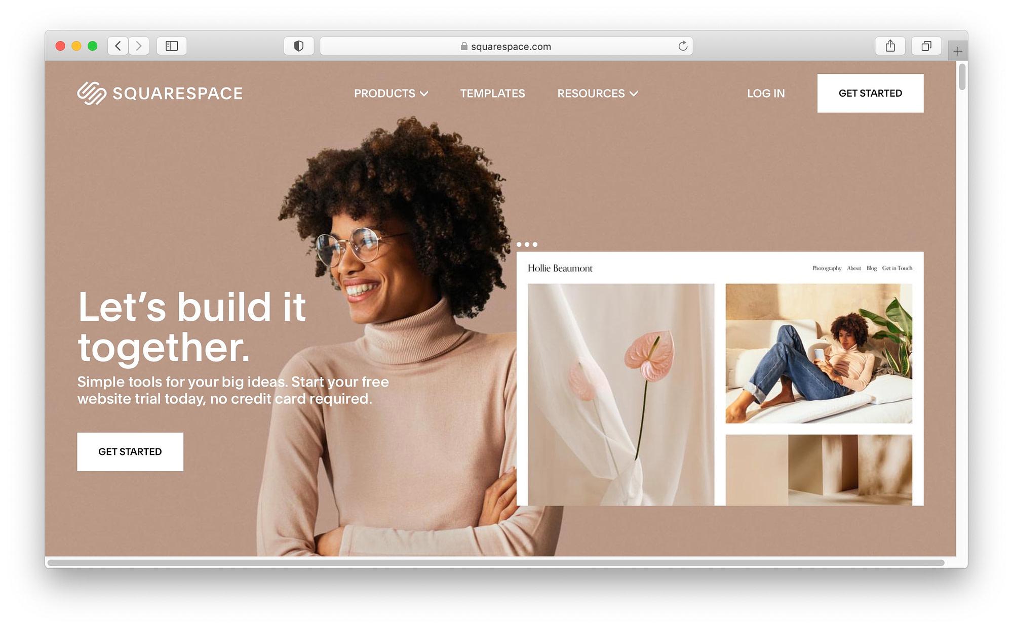 Best WordPress alternatives #2: Squarespace