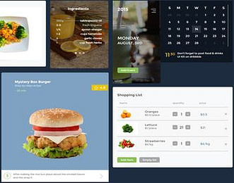 Food and Drink UI Kit view