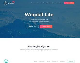 WrapKit Lite view