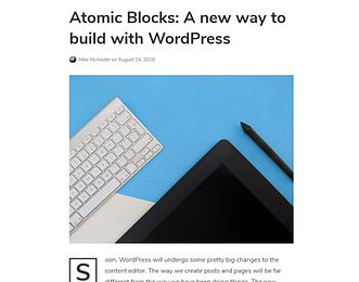 Atomic Blocks view