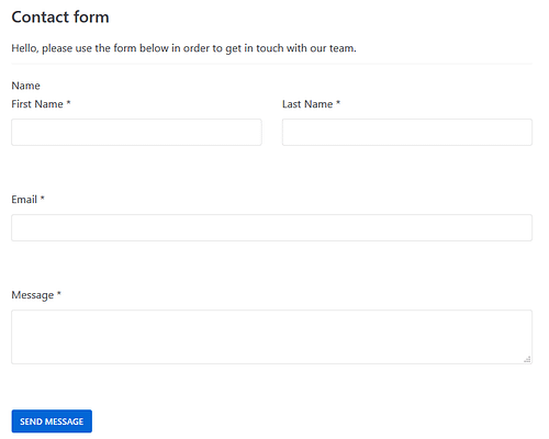 Kali form example