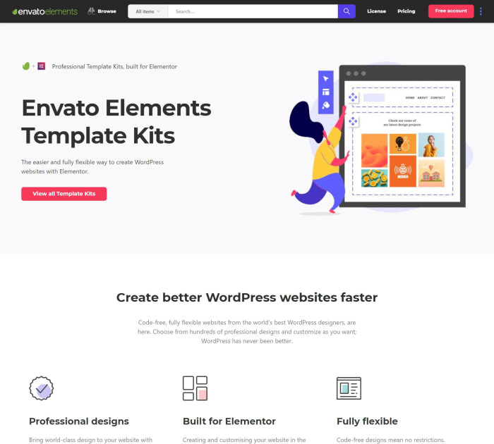 Template Kits by Envato Elements