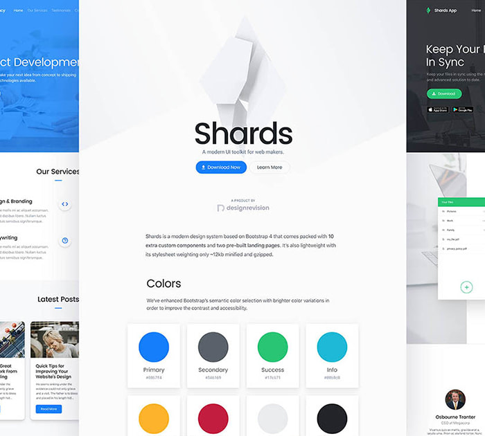 Top Free UI Kits: Shards