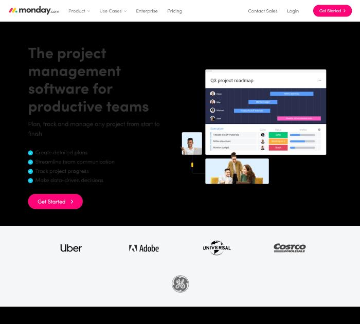 Best project management software: Monday.com