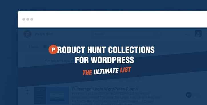 Product Hunt Collections for WordPress