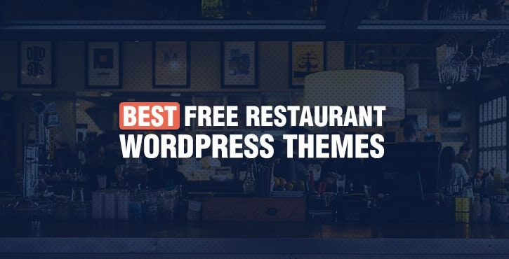 best free restaurant WordPress themes