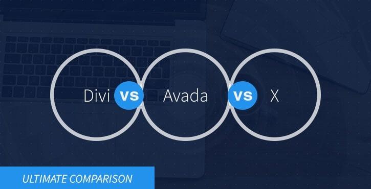 Divi vs Avada vs X