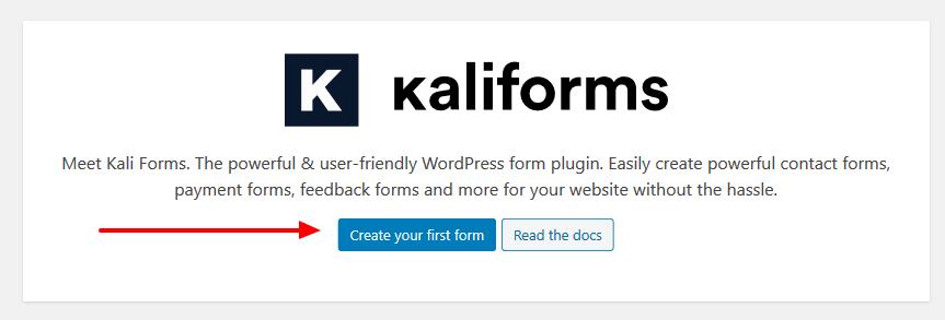 Kali Forms