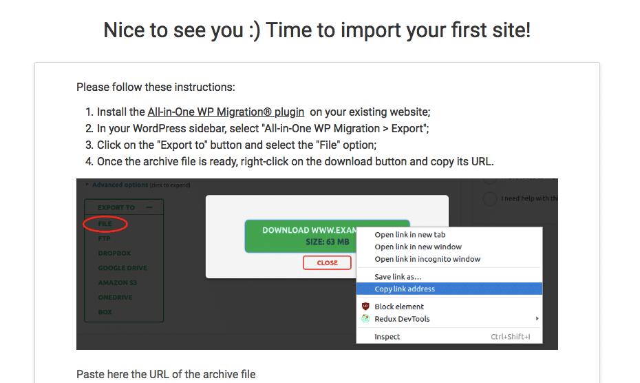 HardyPress import