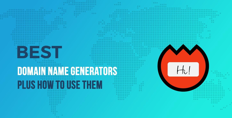 Best Domain Name Generators