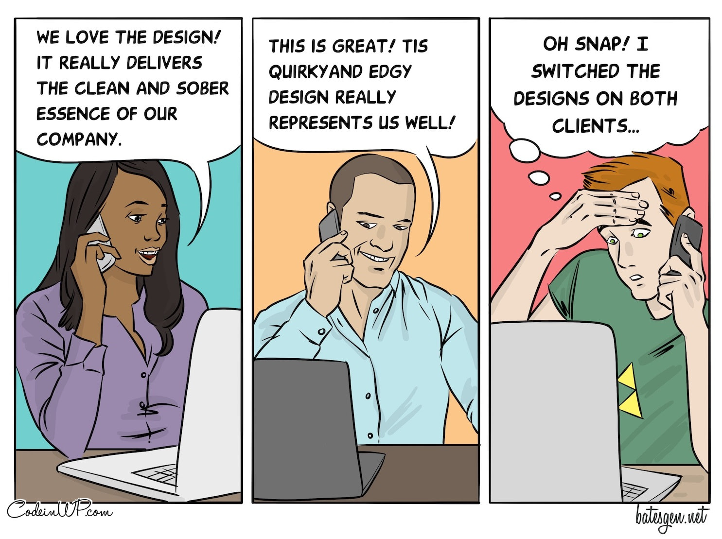 The happy designer is the one who makes good mistakes
