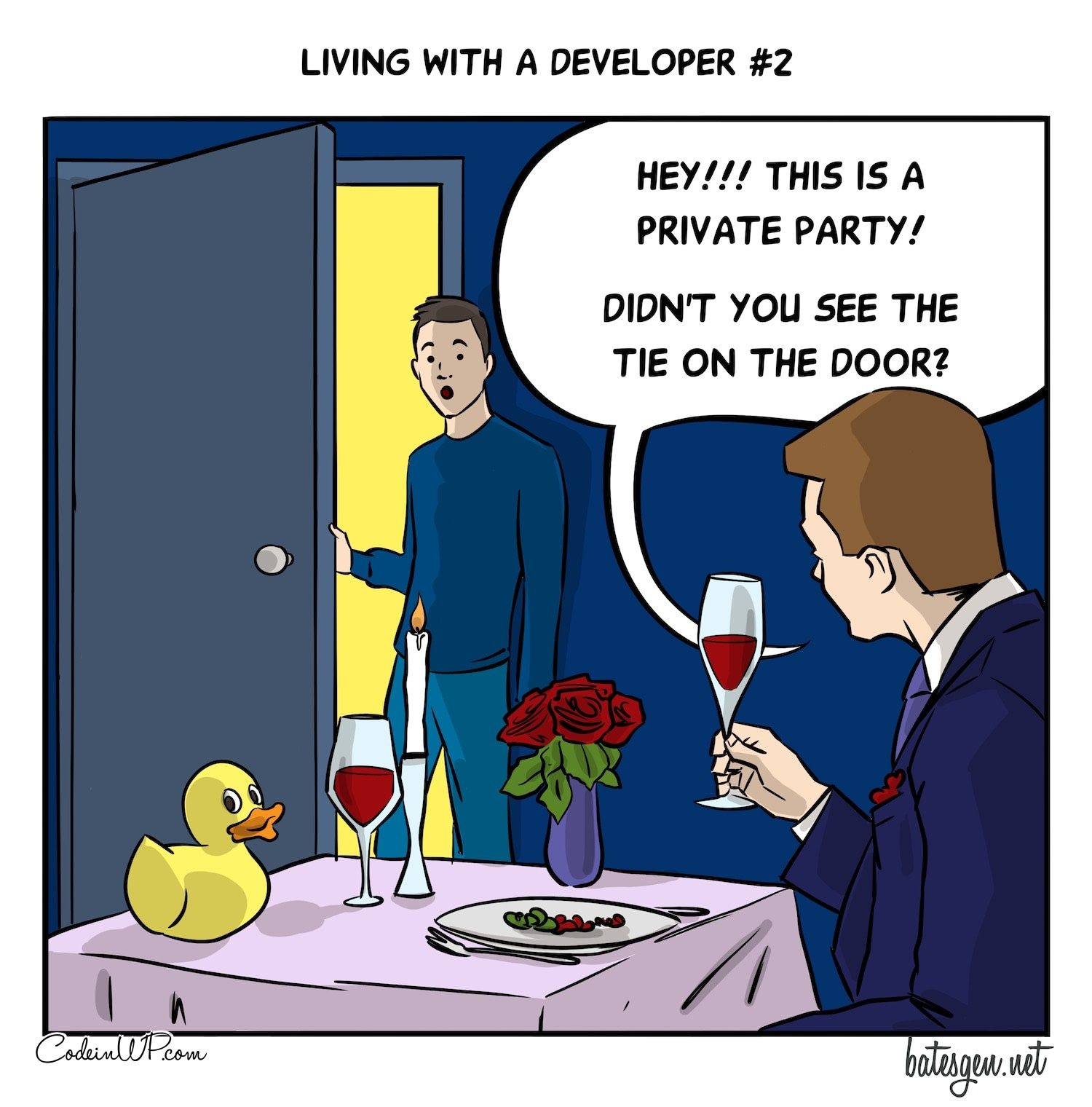 Rubber duck debugging takes some wooing
