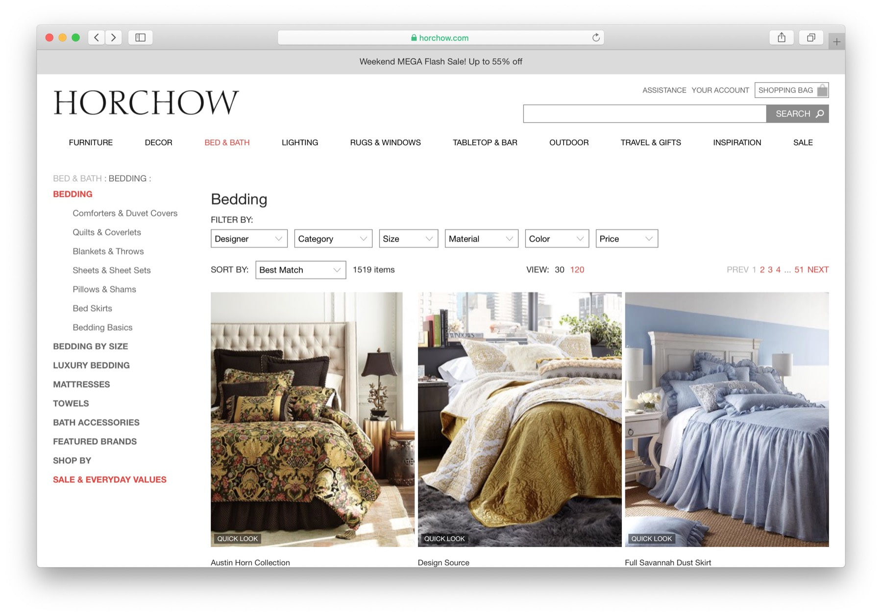 horchow example of how to start eCommerce business