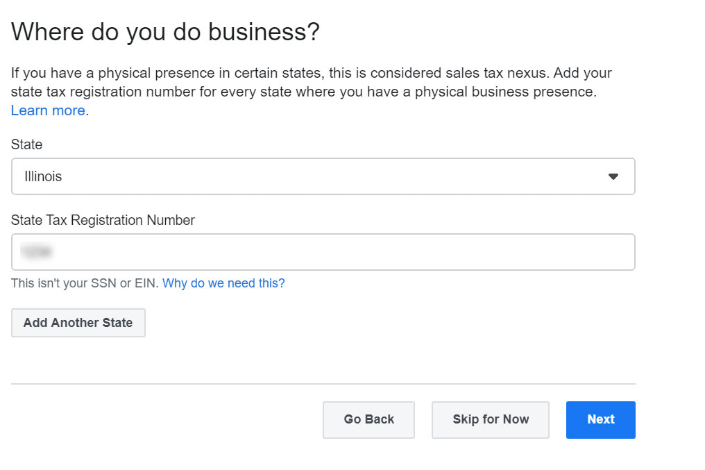 where is your business