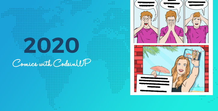 Best tech comics of 2020 (part 2) with CodeinWP: on influencers, hosting, and marketing
