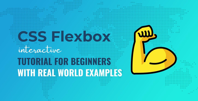 CSS Flexbox tutorial for beginners